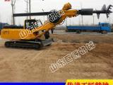 巨匠机械20米履带方杆旋挖钻机厂家直销远销国外