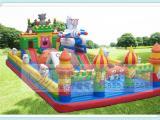 厂家供应批发户外大型儿童卡通游乐园气模淘气堡充气玩具