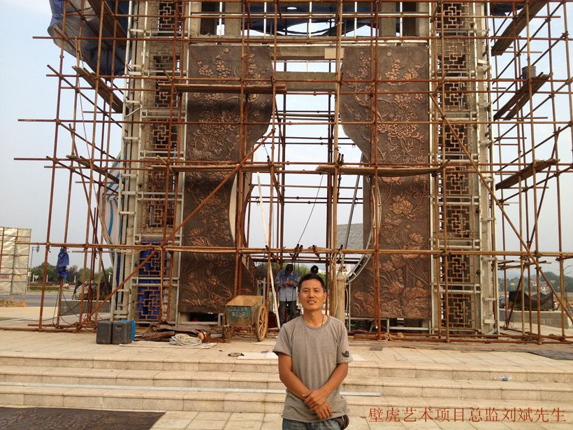 深圳风景区雕塑,盐田龙岗龙华市民广场雕塑,企业标志