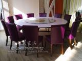 深圳厂家直销 西餐厅家具 天然石英石桌子