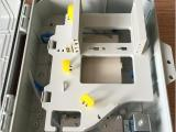 1分16分光箱FTTH插片式光分路器箱24芯分纤箱光纤抱杆