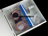 48芯冷轧板光纤箱 光纤信息入户箱 光纤楼道箱