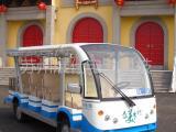 11座带门观光游览车|电动看房车四轮