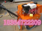 BY-18手扶单轮压路机 汽油单轮压实机