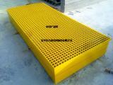 玻璃钢格栅板定制 钢格栅板 走道平台钢格板