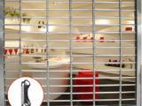 不锈钢电动通花闸厂家新型豪华型通花闸
