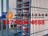 硅酸钙板聚苯颗粒平台浇注搅拌设备,立模轻质隔墙板生产线模具车
