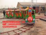 儿童游乐设施小火车丨轨道小火车游乐设备丨公园必选项目价格便宜