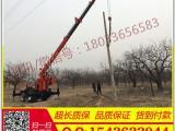 16T吊车改装挖坑机  拖拉机吊车钻孔机价格