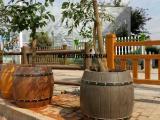 仿木花箱仿木花盆花池地板标识牌树桩围踏步石厂家 找江西艺高