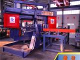 方管圆钢锯切设备 硕超数控型钢转角带锯床节省占地面积
