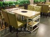 火锅店家具|餐厅桌椅家具|酒店餐桌|板式桌子