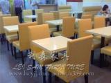 南联防火板餐桌 特色木纹餐台 快餐店餐桌 茶餐厅餐台