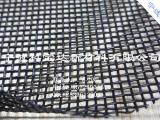 科宝达黑色可视塑料网布水池护栏 室内装潢PVC涂塑布