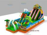 新款充气蹦蹦床厂家直销儿童充气城堡定做变色龙儿童蹦蹦床