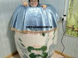 找制作温泉水疗净身洗浴泡澡沐浴净身洗澡陶瓷大缸生产厂家