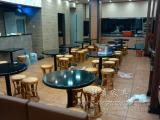 深圳厂家专业定做人造石餐桌茶餐厅甜品店奶茶店休闲餐桌
