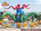 旋转章鱼儿童游乐设备专业定制 自控飞机广场游乐设施