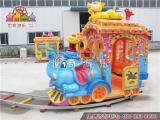大象火车 爬山车 卡通火车 轨道火车儿童游乐设备免费设计