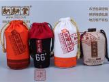 白酒抽绳束口绒布袋 供应帆布酒袋 抽绳帆布酒袋定做生产
