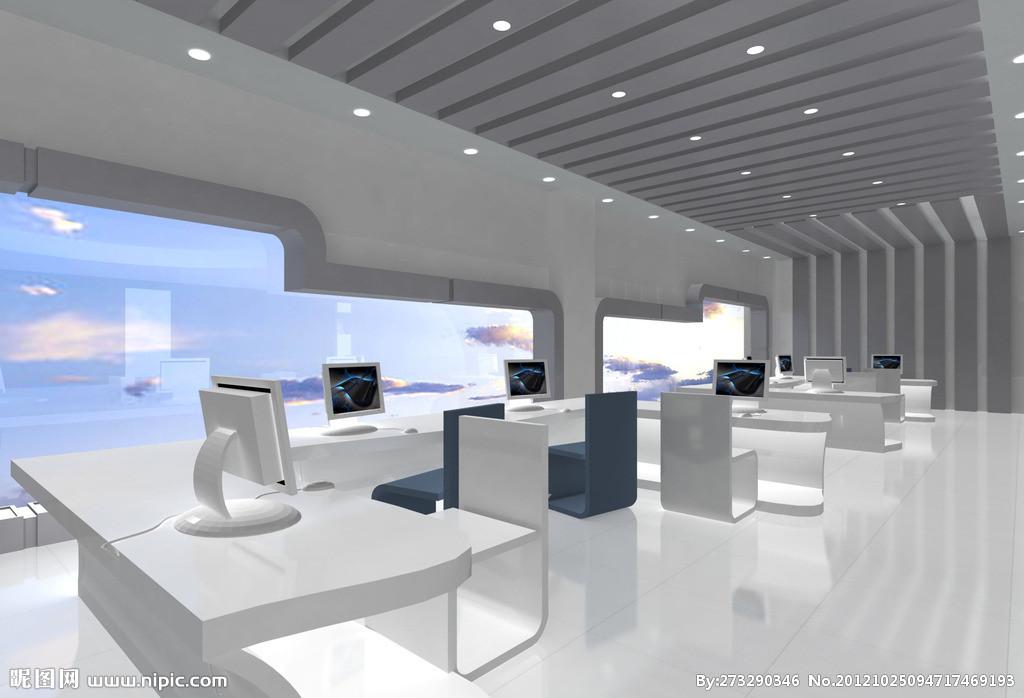 室内商业效果图