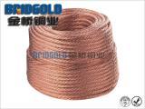 TJRX-35镀锡软铜绞线 接地铜绞线 软铜绞线供应商