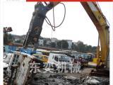 新型挖掘机液压剪拆报废汽车设备环保安全效率快