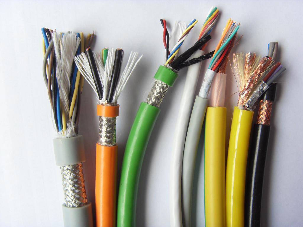 拖链电缆 双护套屏蔽拖链电缆 聚氨酯拖链电缆
