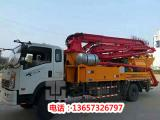 28米混凝土搅拌车带泵-混凝土搅拌车带泵