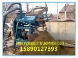 猪粪加工有机肥设备厂家常用猪粪固液脱水机价格粉状有机肥设备
