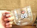 梦之雨 透明玻璃创意礼品杯 厂家批发