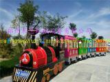 装饰漂亮新款的游乐设备观光小火车郑州米恩供应
