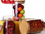 梦之雨 高硼硅耐热玻璃储物罐 防潮干果罐 密封罐 厂家批发