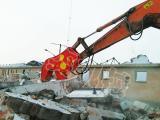 挖掘机液压粉碎钳 破拆钳 破碎剪 大钢牙生产厂家