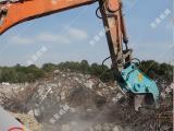 大宇日立安装挖掘机液压粉碎钳 大钢牙 混凝土破碎剪厂家