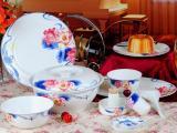 陶瓷套装礼品餐具定做加字,新年礼品年终礼品餐具定做