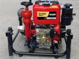 2.5寸安防手抬柴油机动消防泵