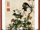 郎世宁瓷板画陶瓷壁画背景墙