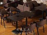 厂家人造石餐桌批发定制茶餐厅快餐厅餐桌椅 价格优惠