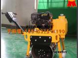手扶式单轮压路机 振动前后液压行走 小型压路机价格 终身维修
