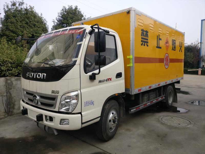 福田4米1爆破器材运输车小型3吨民爆运输车价格
