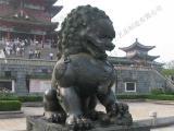 大型铜门狮铸造到志彪