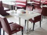 工厂直销火锅桌 防火板火锅桌 电磁炉板式火锅桌椅批发