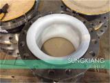 输油管道系统橡胶绕性接头