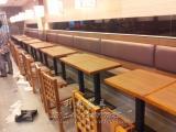 专业定做茶餐厅 奶茶店餐桌 甜品店 休闲人造石餐桌