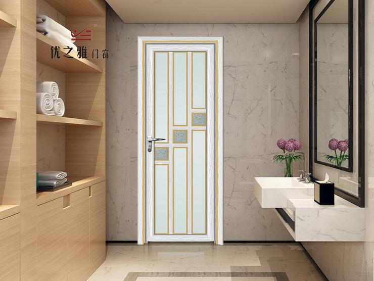 高端铝合金平开门|卫浴门|浴室门厂家直销