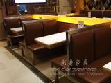 水曲柳餐桌桌子 实木饭桌西餐厅茶餐厅桌椅咖啡厅餐桌椅