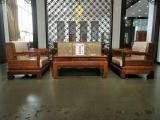 草花梨欧式沙发六件套价格