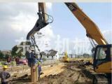 打桩机-挖掘机专用高频液压打拔桩机 振动锤厂家