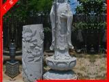 手工圆雕佛像雕塑|石雕地藏王佛像|寺庙地藏王菩萨雕像